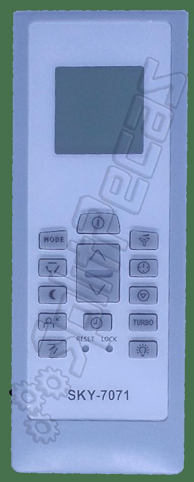 Controle Remoto Electrolux 550A2103