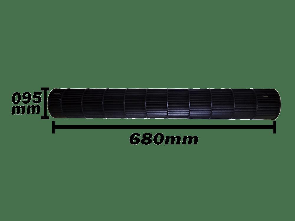 Turbina da Evaporadora LG 9.000 E 12.000 Btus 5901A20017H 095x680
