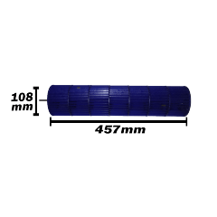 Turbina Komeco Axial Lado Direito 24 e 30 Btus 108x457 0200320756