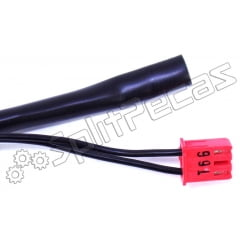 Sensor de Temperatura Ar Condicionado LG 18.000 Btus 10K EBG61106852