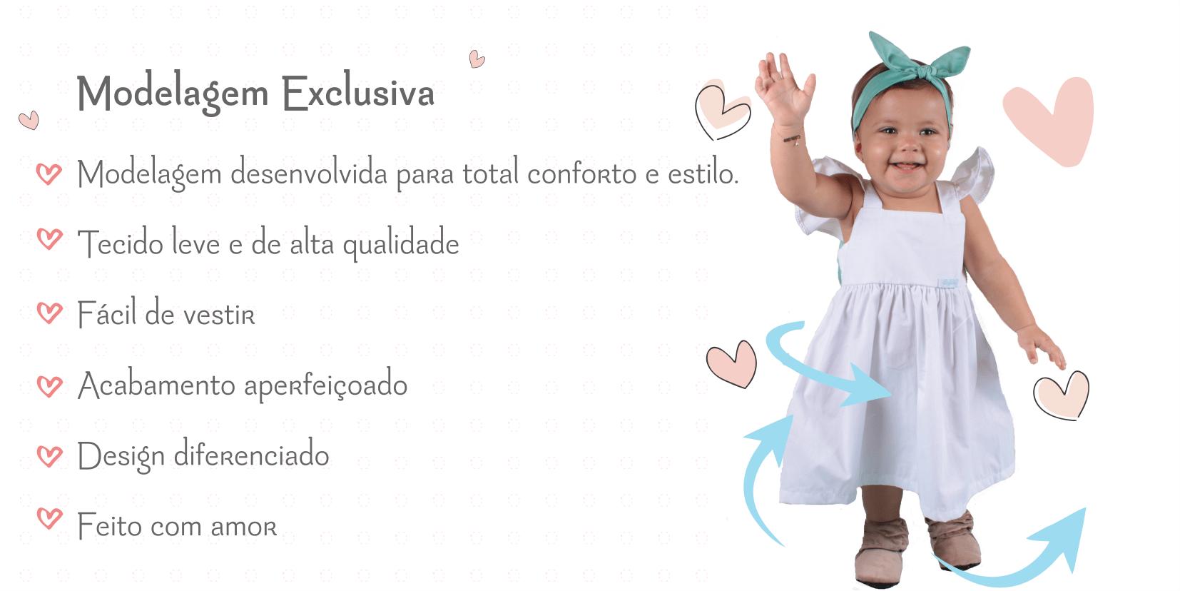 vestido infantil floral sofia modelagem exclusiva