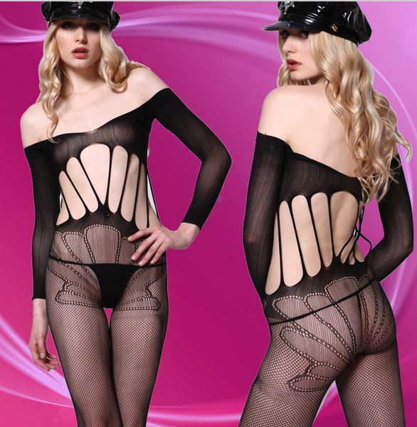 Body Net Ladystocking Moze - 8808