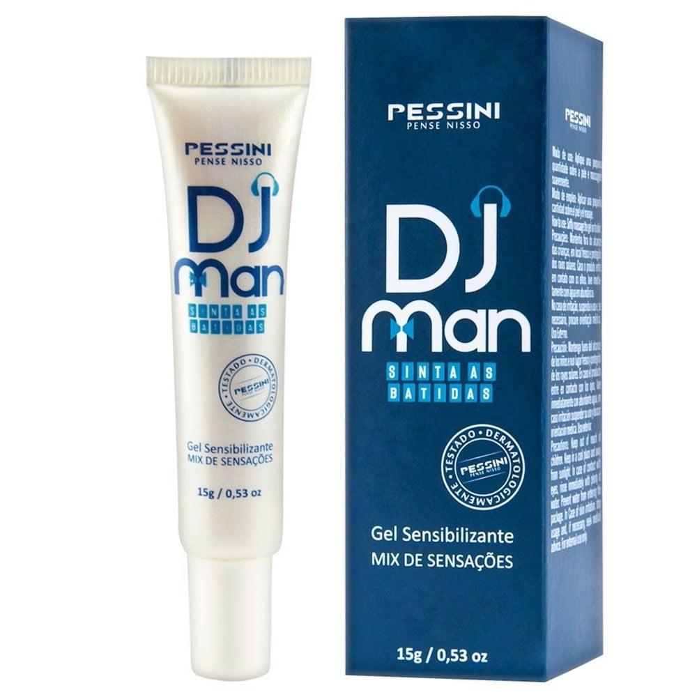 DJ Man Sensibilizante Excitante Masculino - Mix Sensações