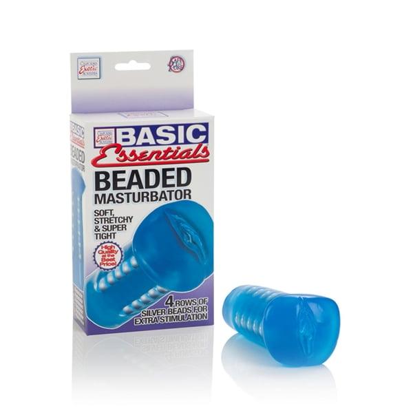 Masturbador Vagina Basic Essentials Beaded