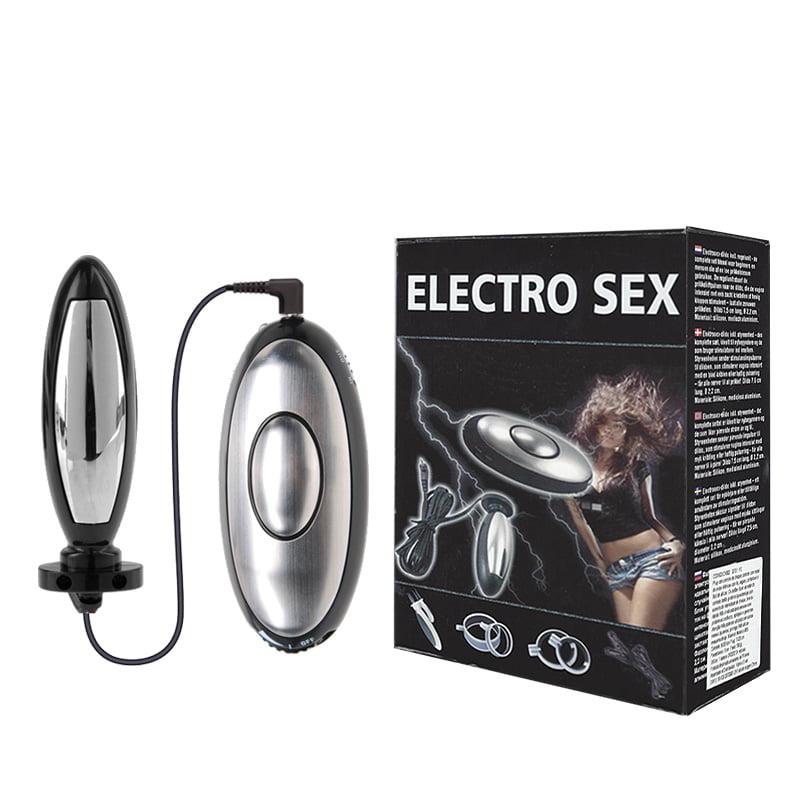 Plug Anal Eletro Choque - ELECTRO SEX - CH002