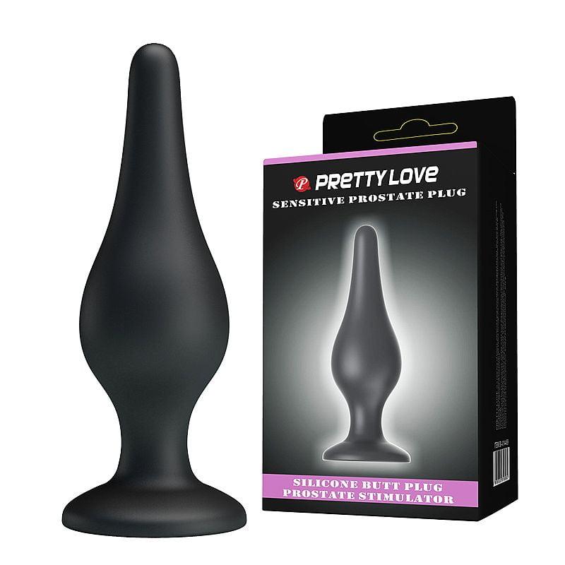 Plug Anal em Silicone - Pretty Love