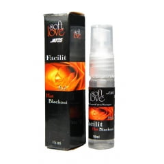 Gel Anestésico Anal 4 em 1 - Facilit Hot Blackout Spray 15ml
