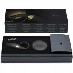 Lelo Oden - Anel Vibrador de Luxo para Casais com Multivelocidade e Resistência à Água - 9 x 2,5 cm