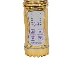 Vibrador Rotativo Recarregável Vai e Vem com Plug de Borboleta - Coleção Aphrodisia