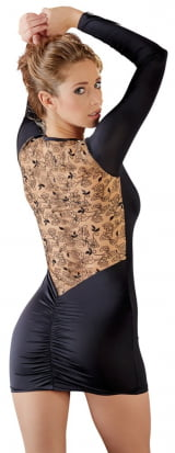 Vestido Com Bordado de Cottelli Collection