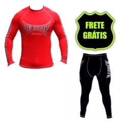 Kit Promocional Camisa e Short Compressão