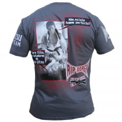 Camiseta Manga Curta Lutadores de Jiu-Jitsu