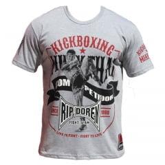 Camiseta Manga Curta Kickboxing Muay Thai