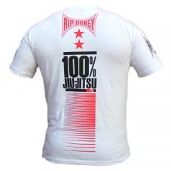 Camiseta Manga Curta Arte Suave 100% Jiu-Jitsu