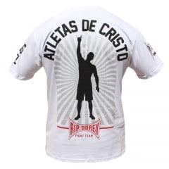 Camiseta Manga Curta Gospel Atleta de Cristo
