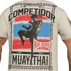 Camiseta Manga Curta Muay Thai Honor & Glory