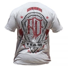 Camiseta Manga Curta Team Black Belts Cinza