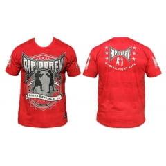 Camiseta Manga Curta Especial Original Fighters Vermelha