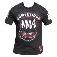 Camiseta Manga Curta Competidor MMA Fighter
