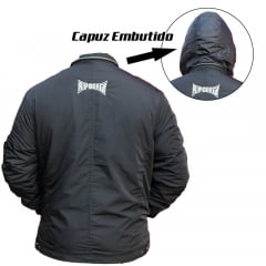 Jaqueta Nylon Capuz Embutido Ref.:1318