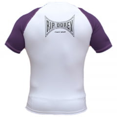 Camisa de Treino Faixa Roxa Competidor Manga Curta