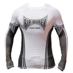 Camisa RashGuard de Treino Manga Longa PRO - Faixa Branca