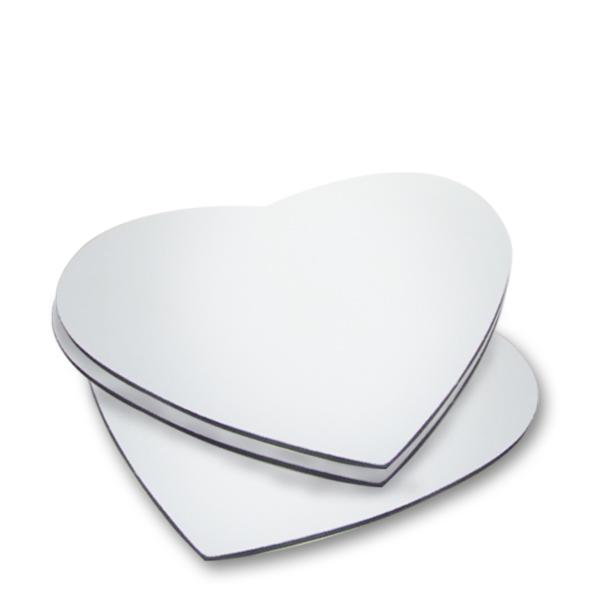 Mouse Pad Coração 19,5X17 Cm (básico) REF 304 - Valor Unitário
