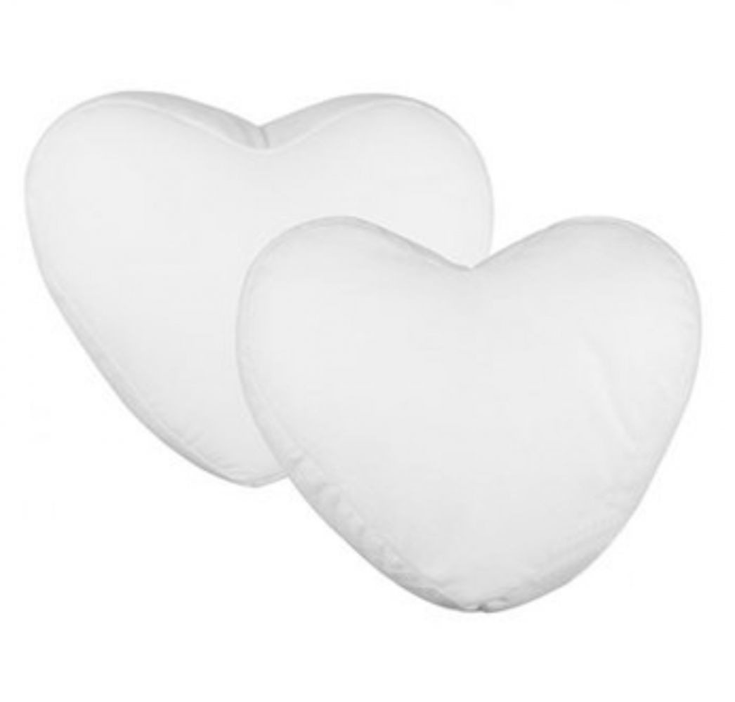 Almofada coração - PEQUENA (Capa + Enchimento) - Valor Unitário