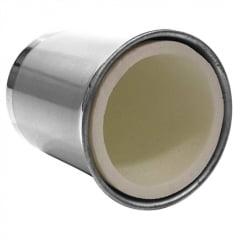 Porta latas térmico para sublimação em alumínio com isopor interno - Valor unitário