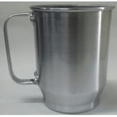 Caneca De Chopp Em Alumínio Brilhante 500 Ml - Valor unitário