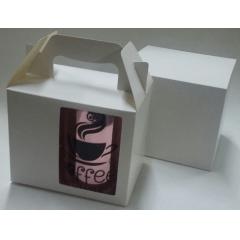 Embalagem NÃO SUBLIMÁTICA para Caneca até 330 ml (com visor) - Valor unitário