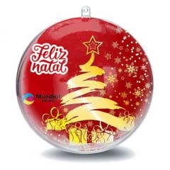 Esfera de Acrílico - Bola de Natal