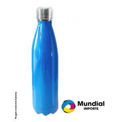 Garrafa Térmica Azul para Sublimação 500ml - Valor Unitário