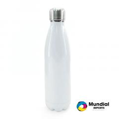 Garrafa Térmica Branca para Sublimação 500ml