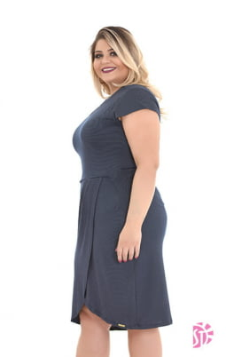 Moda Evangelica - VESTIDO EVANGÉLICA DE MALHA PIQUET SOL DA TERRA 11210