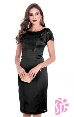 Moda Evangelica - VESTIDO TUBINHO EVANGÉLICO SOL DA TERRA 10797