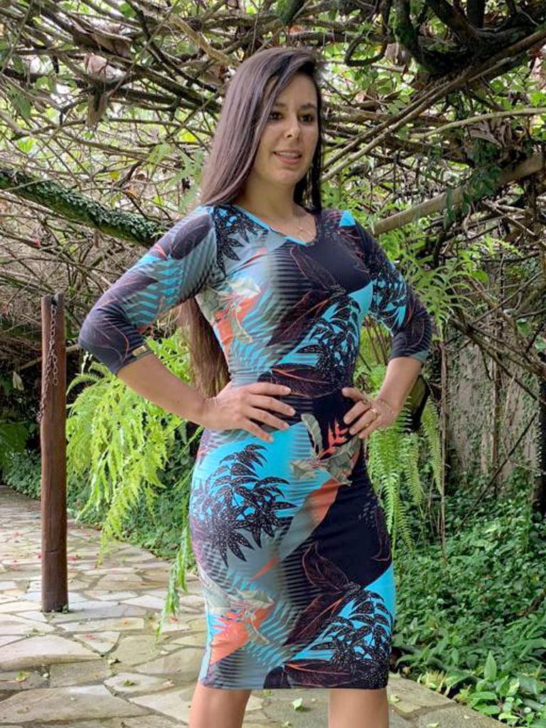 Moda Evangelica - VESTIDO 11279