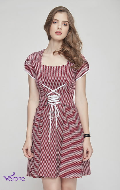 Moda Evangelica - Vestido 75085