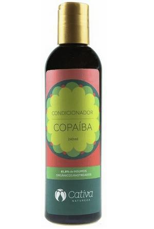 Condicionador de Copaíba - Cabelos Oleosos e Anti-Caspa 240ml