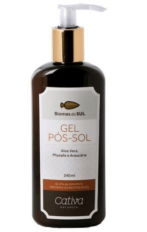Gel Pós-Sol da Biomas do Sul 240 ml