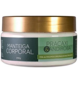 Manteiga Corporal Pracaxi e Andiroba 250g