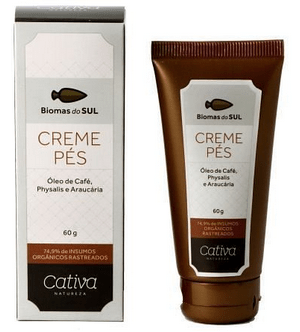 Creme Para os Pés Biomas do Sul 60ml