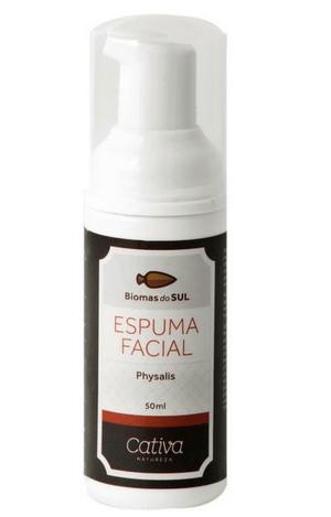 Espuma Facial Physalis Biomas do Sul 50ml