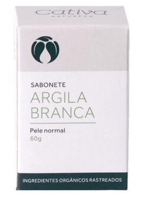 Sabonete Argila Branca 60g - Peles Normais