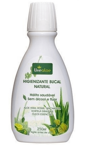 Higienizante Bucal Natural - Sem Álcool e Fluor 250ml