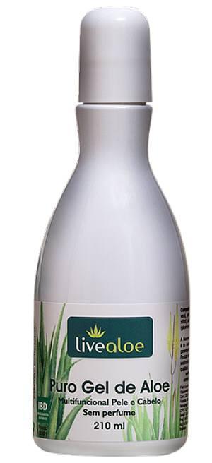 Puro Gel de Aloe 210ml - Aloe Vera Orgânica - Babosa