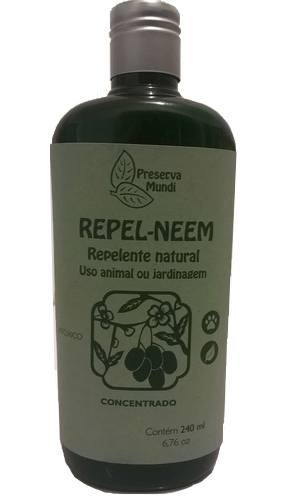 Repel Neem Concentrado - Repelente Para Uso Animal e Jardinagem