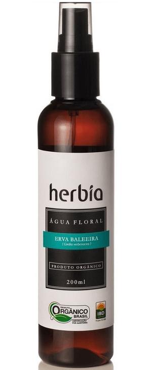 Hidrolato - Água Floral Orgânica de Erva Baleeira 200ml Herbia