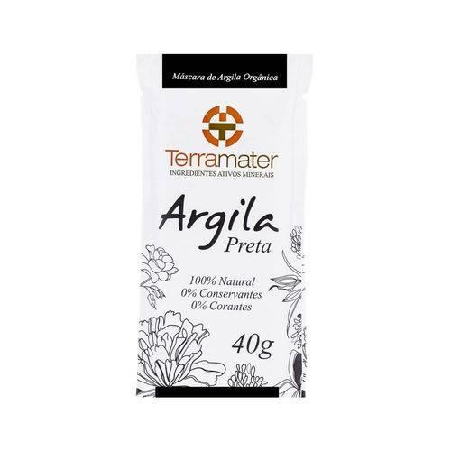 Argila Preta 100% Natural - Proteção térmica e Desintoxicante 40g