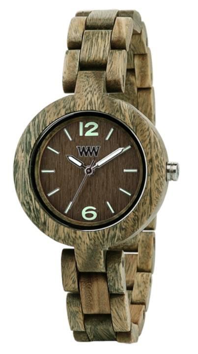 Relógio de Madeira - IRIS Army